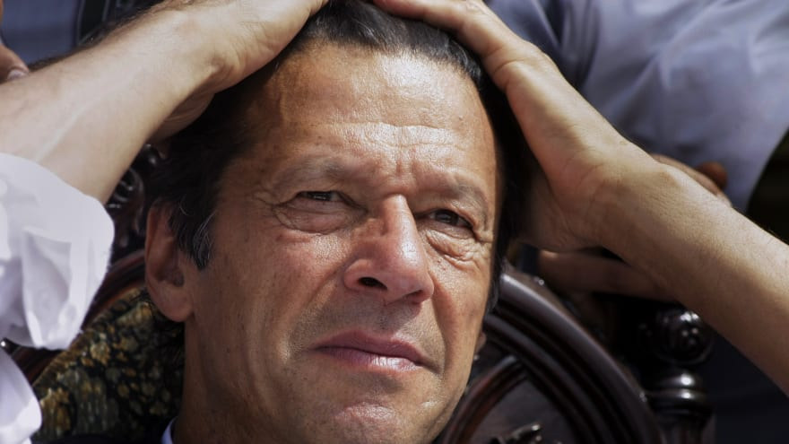 Imran Khan in India