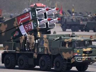 NASR missile system