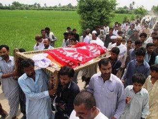 qandeel baloch funeral
