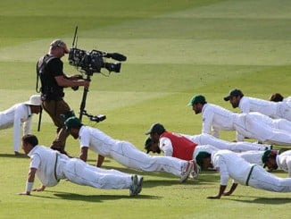 pakistan cricket team celebrations