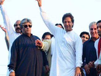 Imran Khan PTI rally