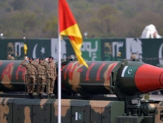 Pakistan Shaheen 3 Missile test