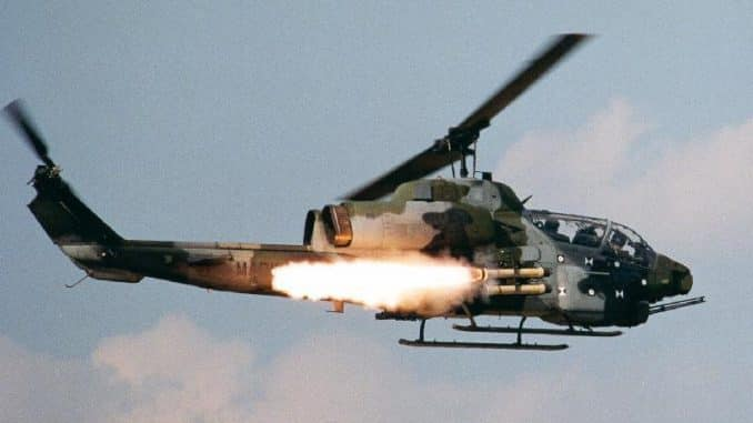 Pakistan army cobra attack helicopter