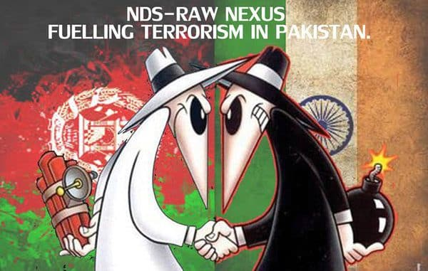 afghan intelligence agency nds and indian intelligence agency RAW evil nexus