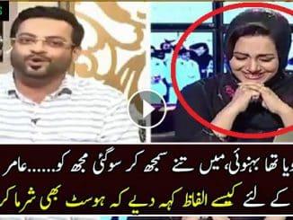 Amir liaquat hussain vulgar language against Rana Sanaullah
