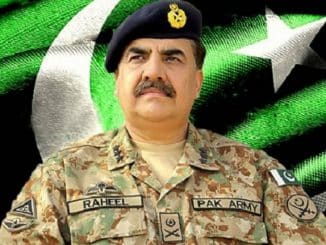 General raheel sharif clear message to India