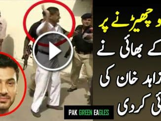 Zahid Khan beaten by a girl's brother