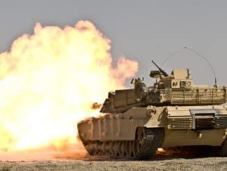 US Army M1A1 Abrams tank