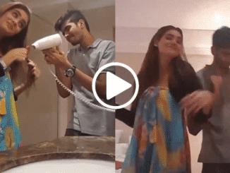 last video of Nisha Malik with her brother
