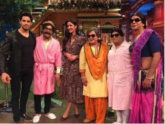 Katrina Kaif and sidharth malhotra in Kapil Sharma Show