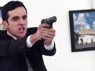 russian ambassador killing