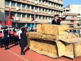 Taiwanese high school students holds Nazi-themed parade