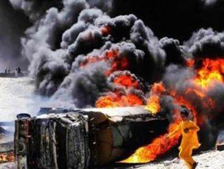 Bahawalpur fire incident