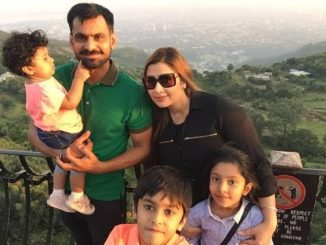 Mohammad Hafeez and family