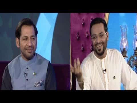 Sarfraz in Amir Liaquat show